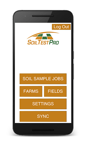 Soil Test Pro Mobile App - Home Page