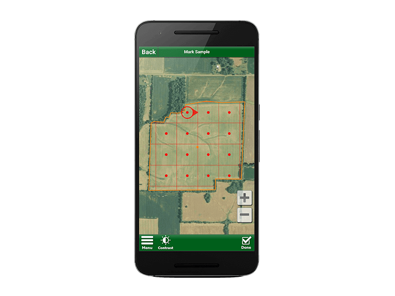 Step 5: Go to the Field and Start Soil Sampling with Soil Test Pro