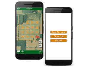 Soil Test Pro Screenshot of Grid Sampling